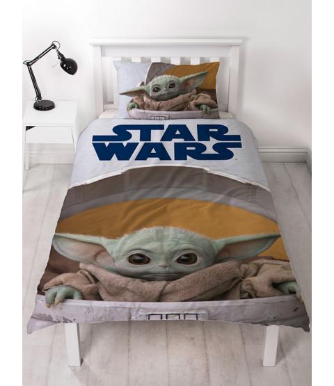 Star Wars Mandalorian Baby Yoda Single Duvet Cover Set