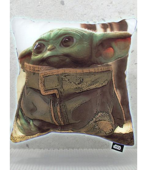 Star Wars Mandalorian Baby Yoda Cushion