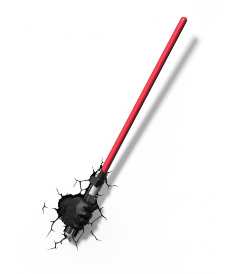 Star Wars Darth Vader Lightsaber 3D LED Wall Light
