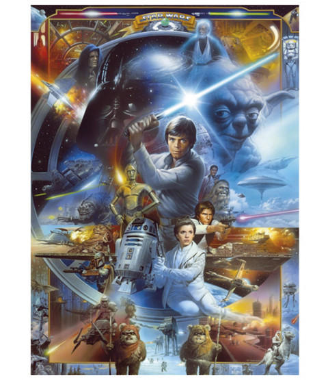 Star Wars Wall Mural 254 x 184cm