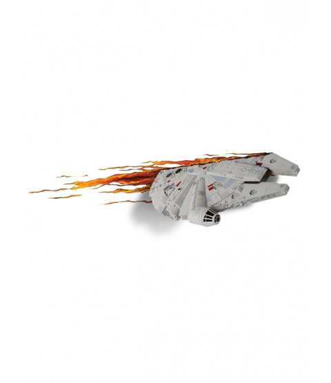 Star Wars Millennium Falcon 3D LED Wall Light
