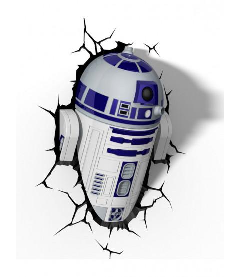 Star Wars R2-D2 3D LED Wall Light