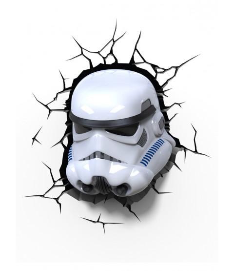 Star Wars Stormtrooper 3D LED Wall Light