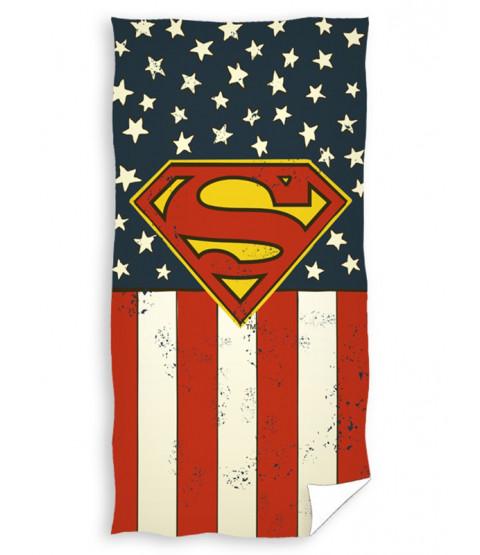 Asciugamano da spiaggia con logo Superman