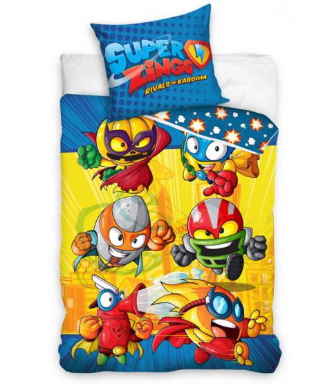 Super Zings Rivals Single Cotton Duvet Cover Set