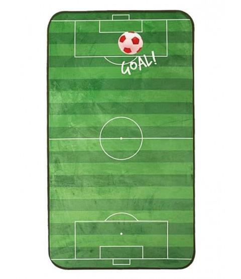 Football Floor Mat Rug - Red
