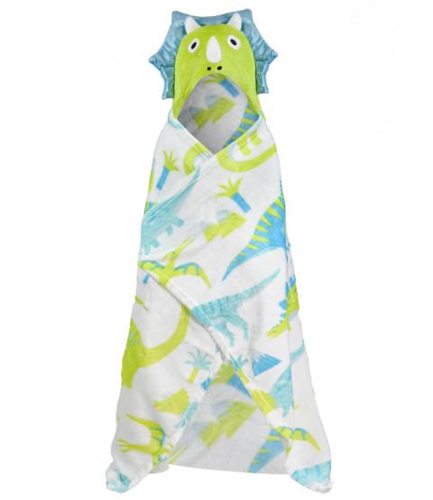 Dinosaur Hooded Blanket