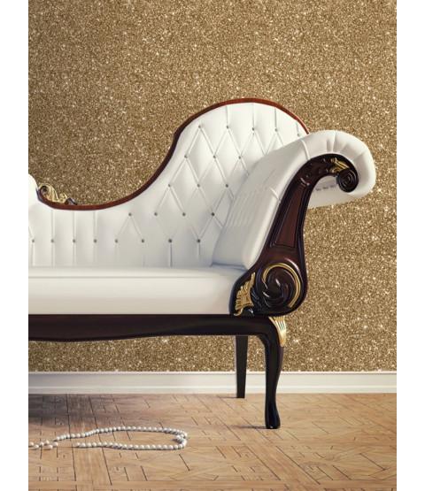 Textured Sparkle Wallpaper  - Gold - 701354