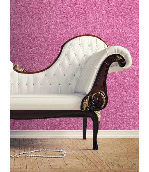 Textured Sparkle Glitter Effect Wallpaper  - Pink - 701356 Muriva