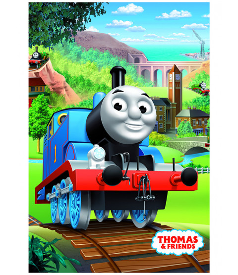 Thomas & Friends Track Fleece Blanket