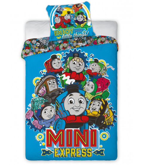 Thomas and Friends Minis Single Duvet Cover Set - European Size
