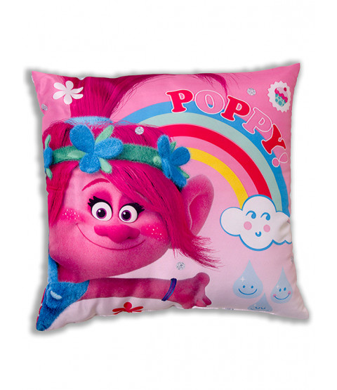 Trolls Dreams Poppy Reversible Cushion