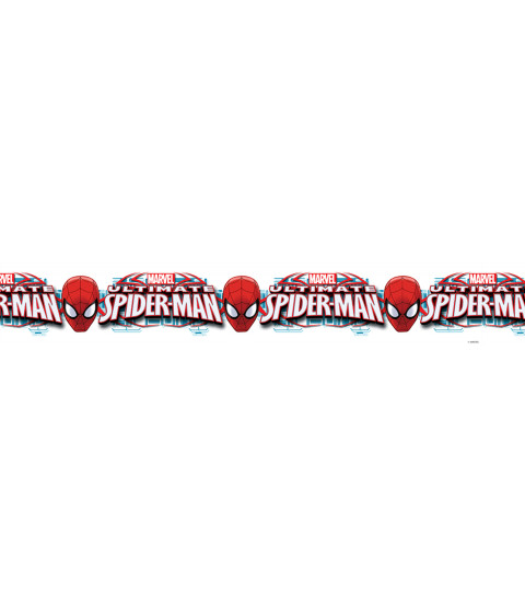 Ultimate Spiderman Self Adhesive Wallpaper Border 5m