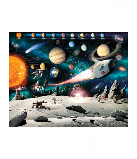 Walltastic Space Adventure Wall Mural 2.44m x 3.05m