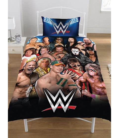 Juego de funda nórdica y funda de almohada WWE Legends Single