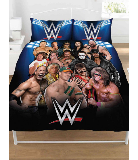 Set copripiumino doppio e federa WWE Legends