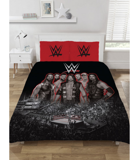 WWE Wrestling Ring Double Duvet Cover Set