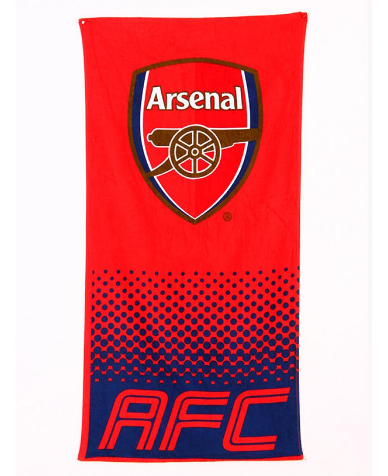 Arsenal Fc Fade Towel Football Beach Bath Boys