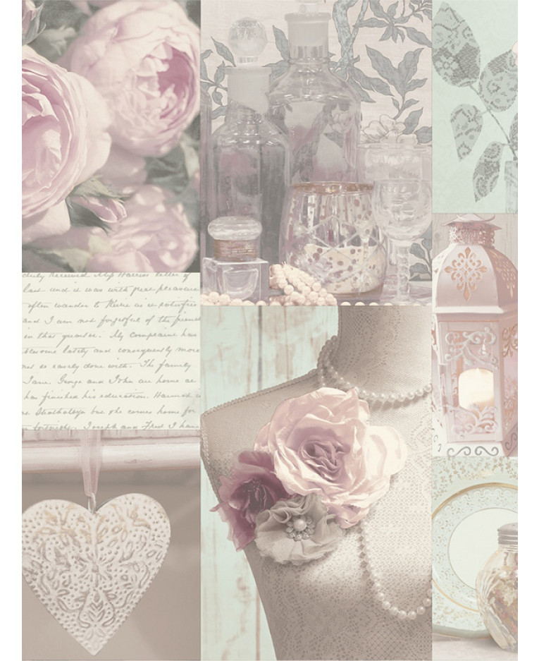 Charlotte Floral Wallpaper Blush 665200 Arthouse
