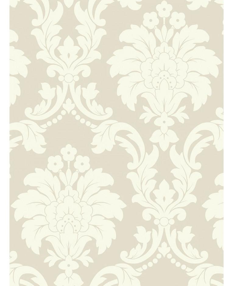 Romeo damask wallpaper cream arthouse 693502 for Damask wallpaper