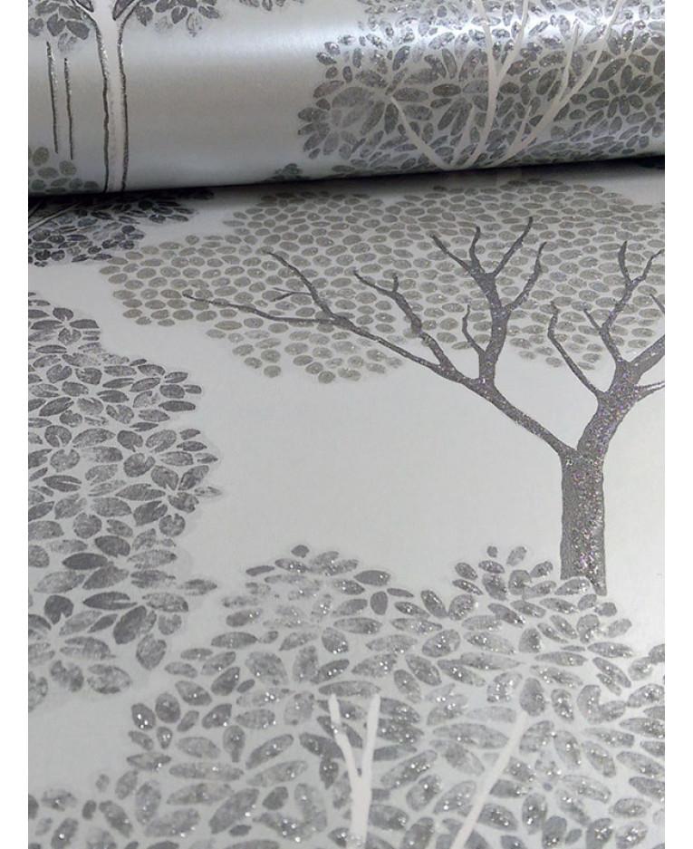 Ellwood trees wallpaper 670002 silver