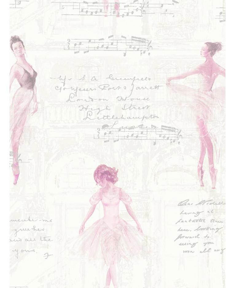 Ballet ballerina wallpaper pink arthouse 668200 pirouette ballet ballerina wallpaper pink arthouse 668200 voltagebd Images