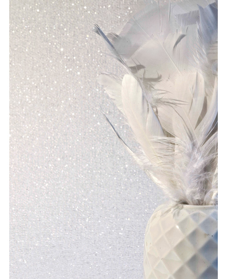 glitterati ice white glitter wallpaper arthouse 892108