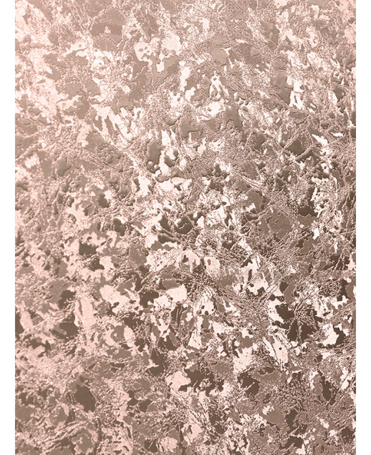 Velvet Crush Foil Wallpaper Rose Gold Arthouse 294300