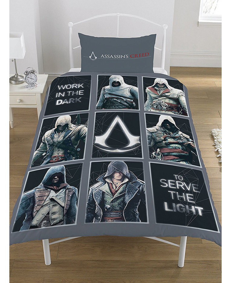 Assassin's Creed Legacy Single Duvet Cover and Pillowcase ...