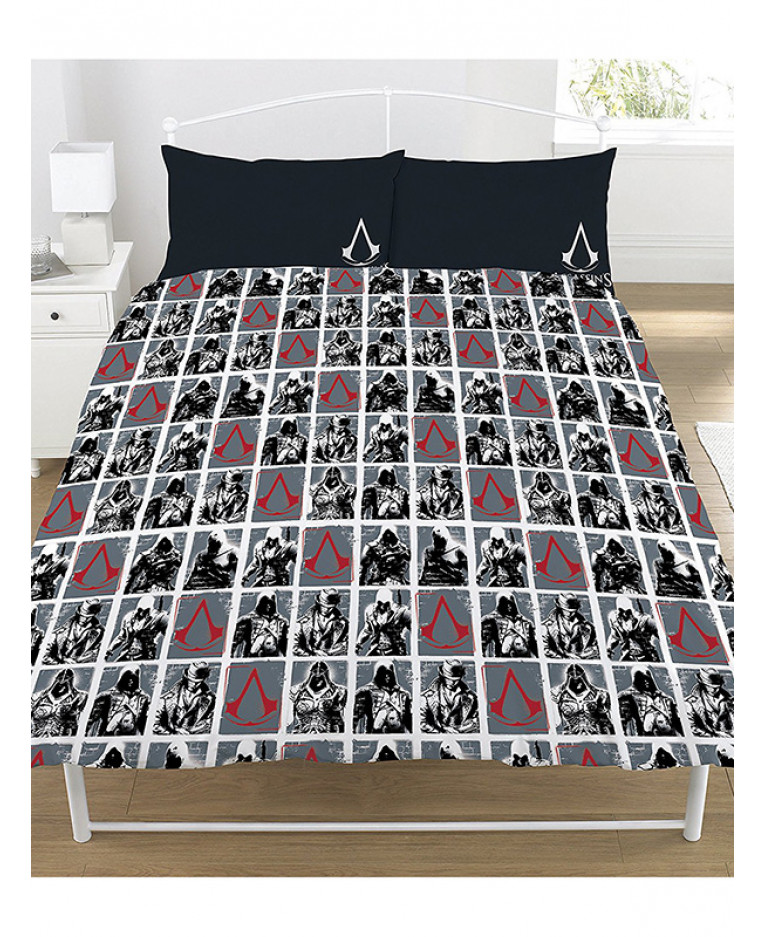 Assassin's Creed Legacy Double Duvet Cover and Pillowcase ...
