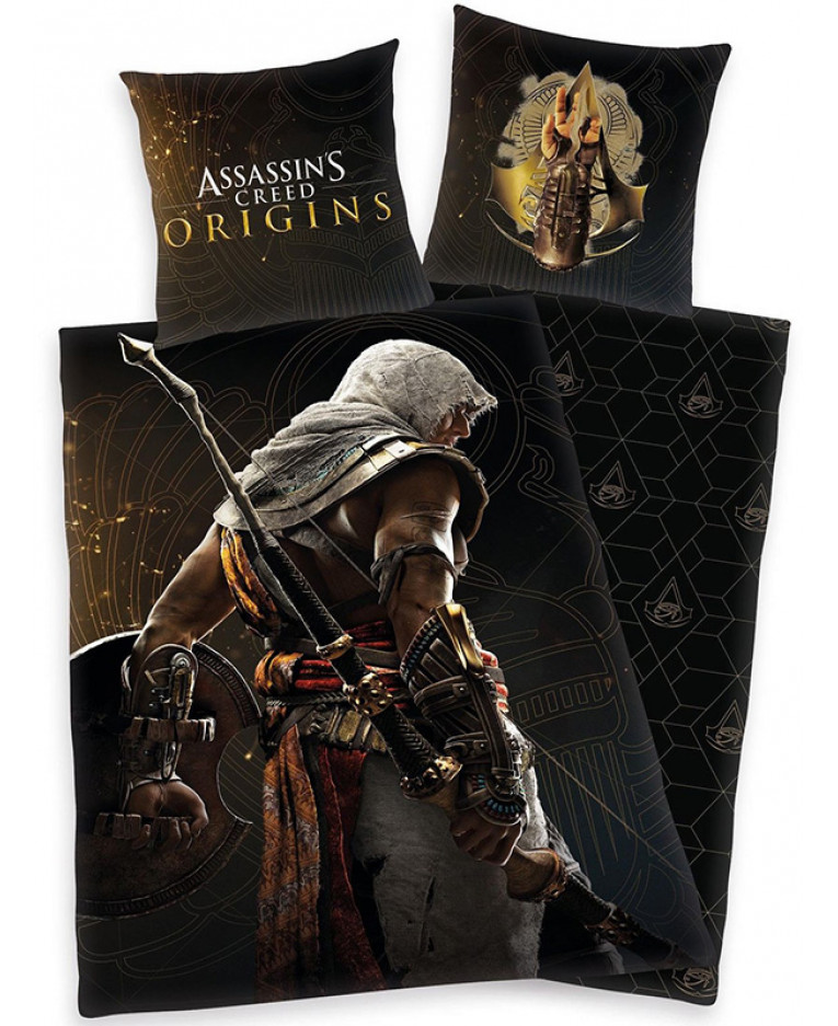 Assassin's Creed Origins Single Duvet Cover and Pillowcase ...