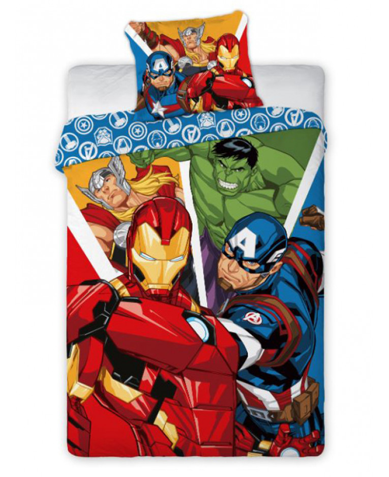 Asciugamano ufficiale Disney Avengers quattro Avengers in cotone