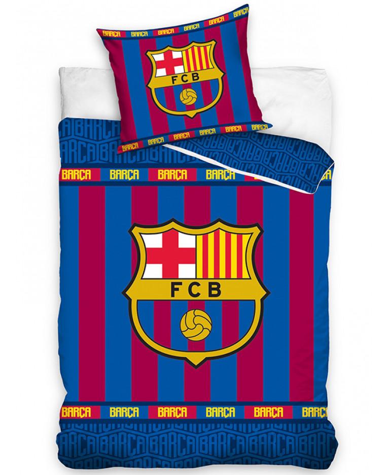FC Barcelona Stripe Single Duvet Cover Set. FC Barcelona Stripe Single Duvet Cover Set   Bedroom