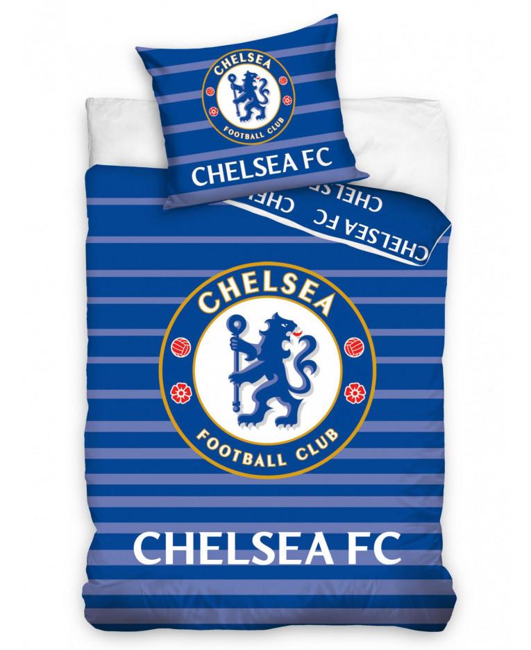 Chelsea Fc Match Single Cotton Duvet Cover Set Bedroom