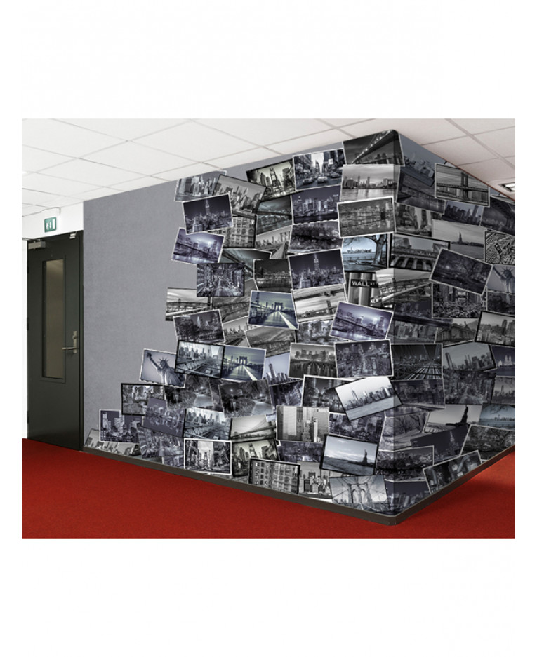 Creative collage new york big apple designer wall mural for Mural collage