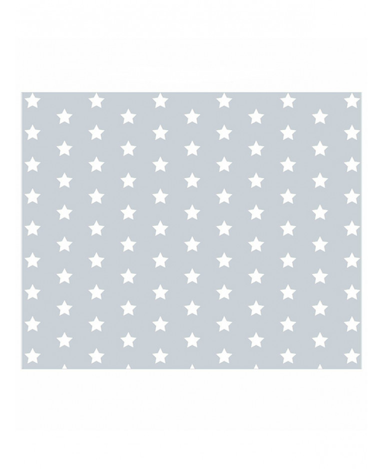 Grey And White Stars Lined Curtains Bedroom Curtains