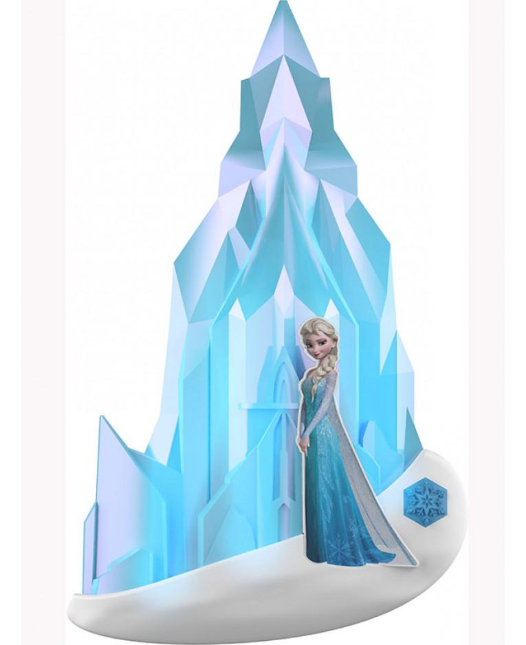 Disney Frozen Elsa 3d Wall Light Bedroom Night Light
