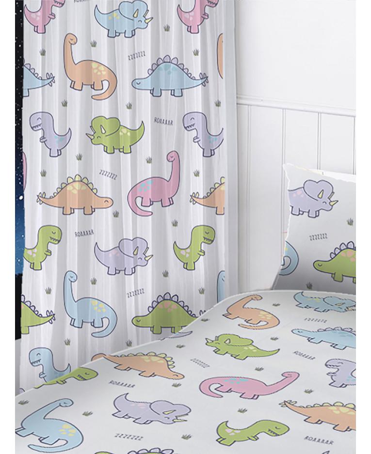 Dinosaurs Curtains Bedroom