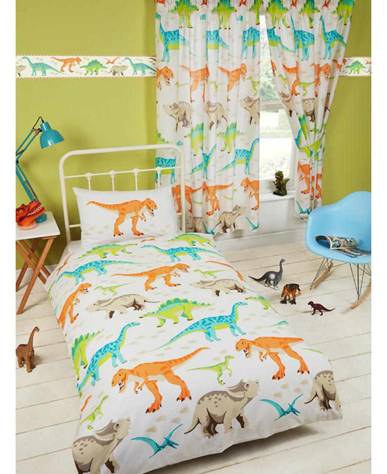 Dinosaur World Junior Duvet Cover Bedding Bedroom