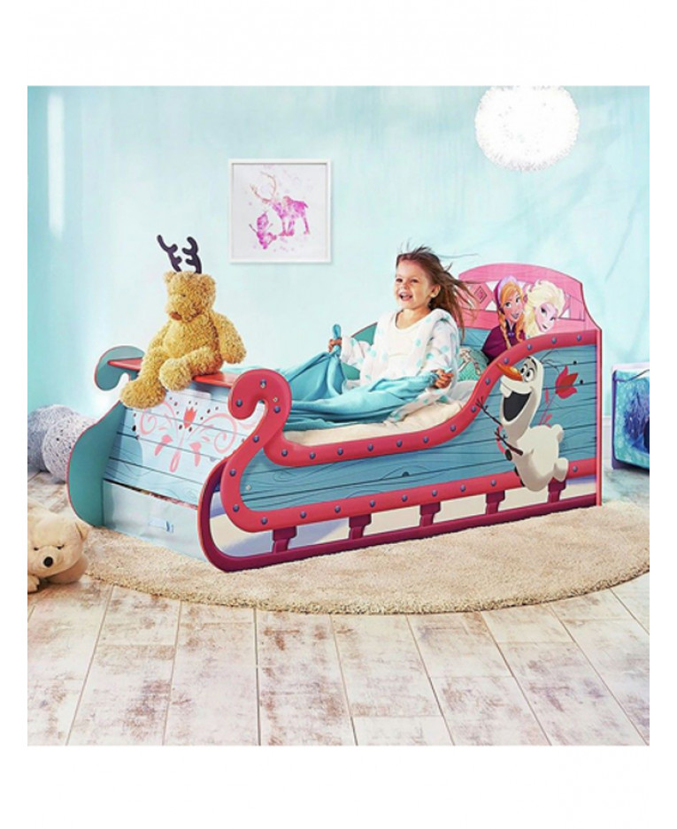 Frozen Sleigh Toddler Bed Foam Amp Storage Price Right Home