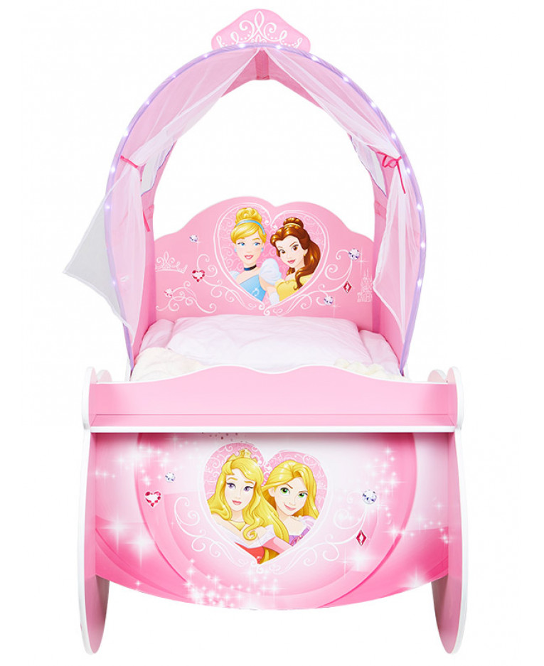 disney princess carriage feature toddler bed. Black Bedroom Furniture Sets. Home Design Ideas