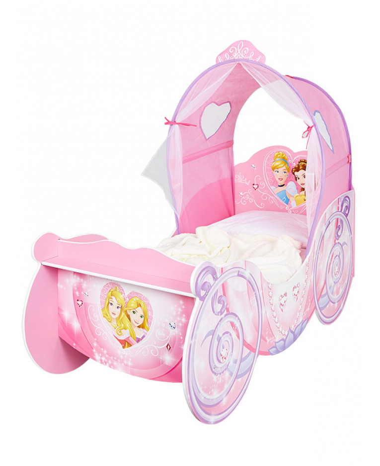 Disney Princess Carriage Feature Toddler Junior Bed