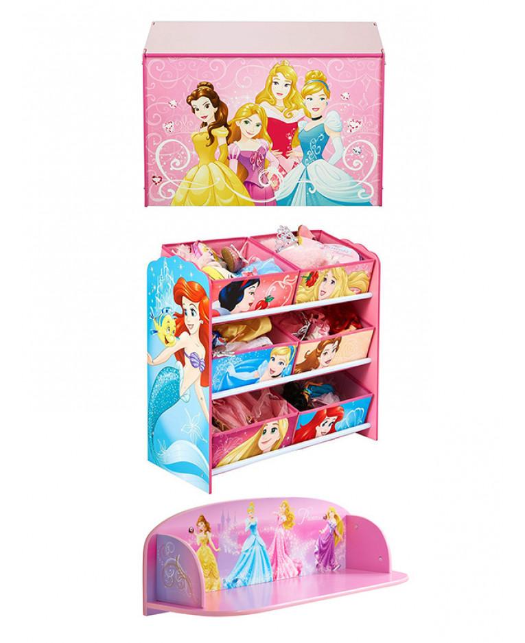 Disney Princess Bedroom Furniture Storage Set