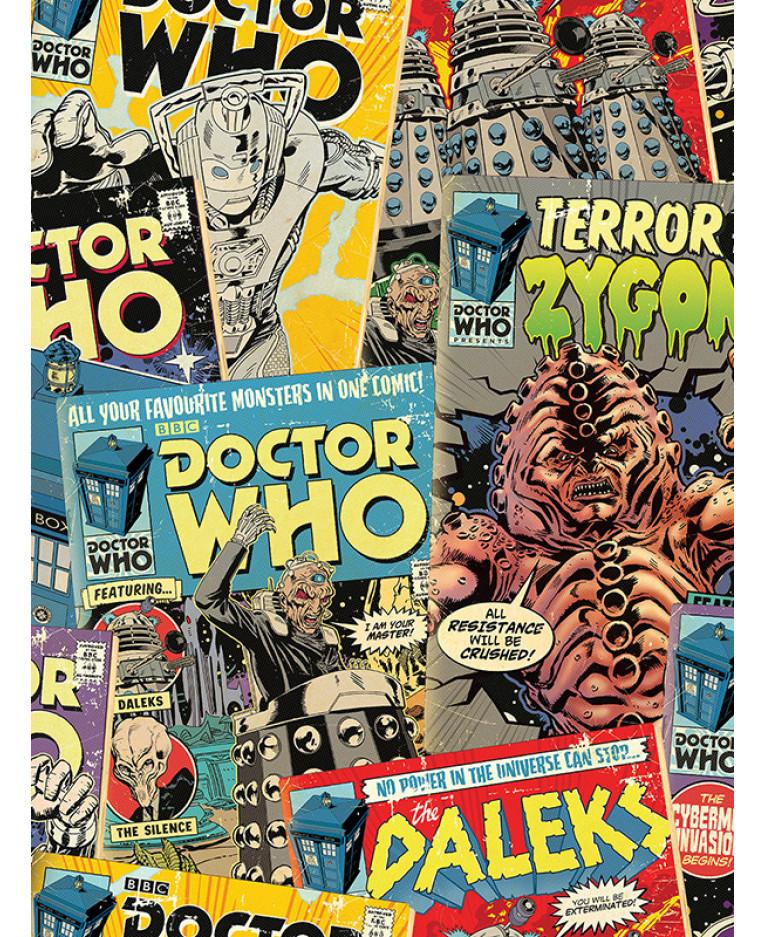 Doctor Who Comic Wallpaper