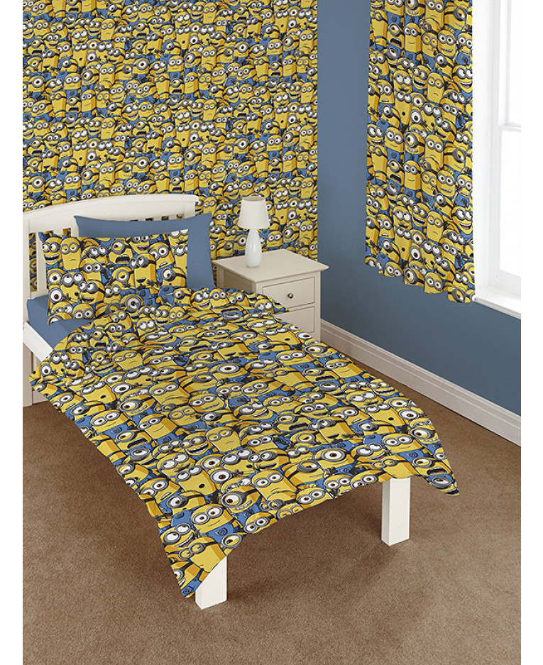 Despicable Me Minions Curtains Bedroom