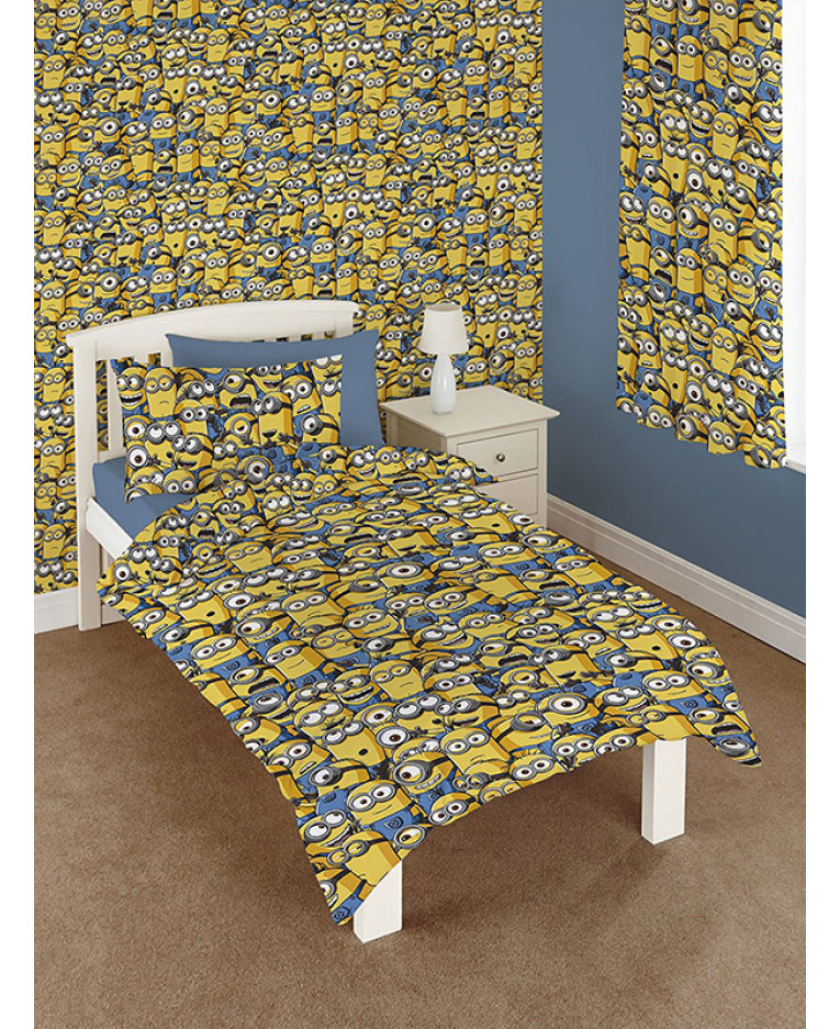 Despicable Me Sea Of Minions Wallpaper Bedroom Bedding