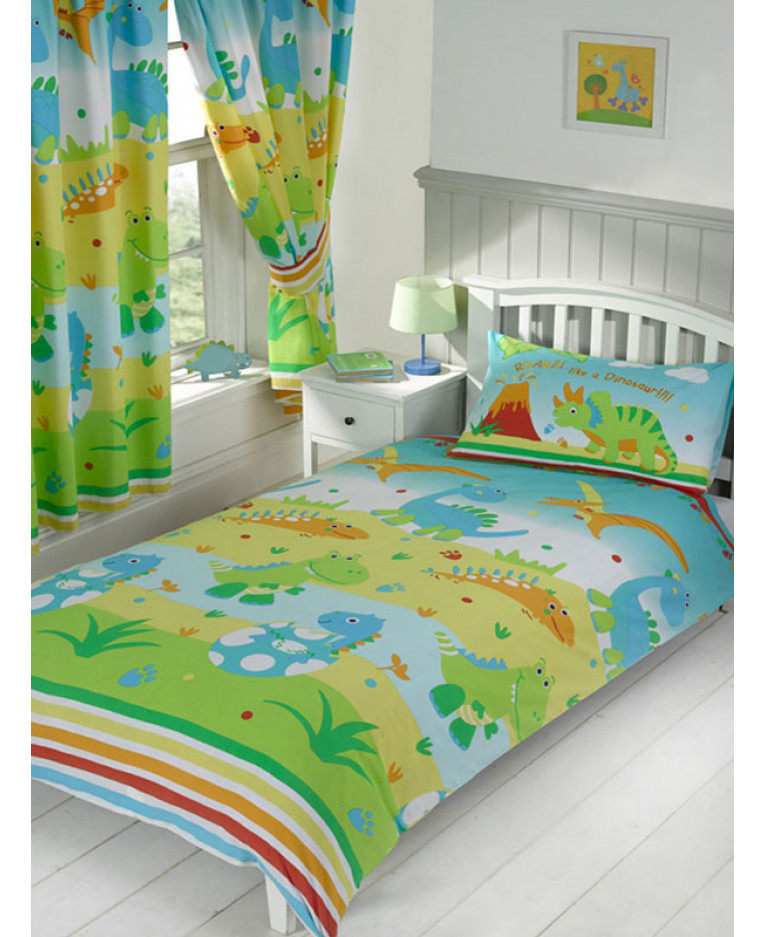 Dinosaur Roar 4 Piece Jr Bedding Set Price Right Home