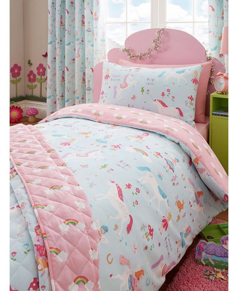 Magical Unicorn 4 Piece Bedding Set Price Right Home