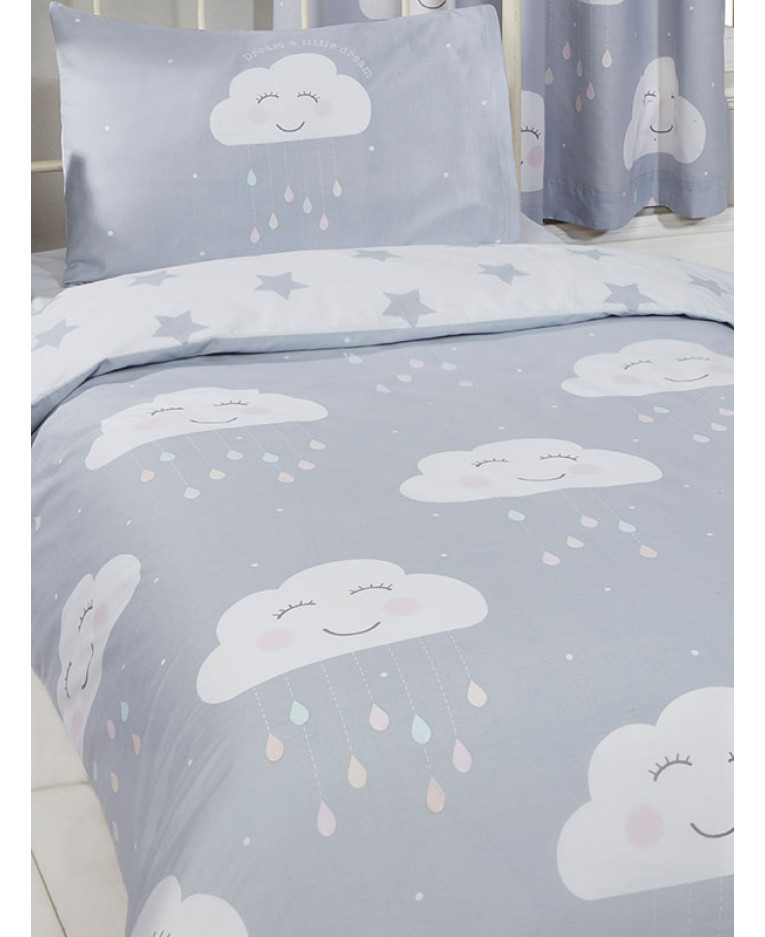 Clouds and Rainbows Single Duvet Cover