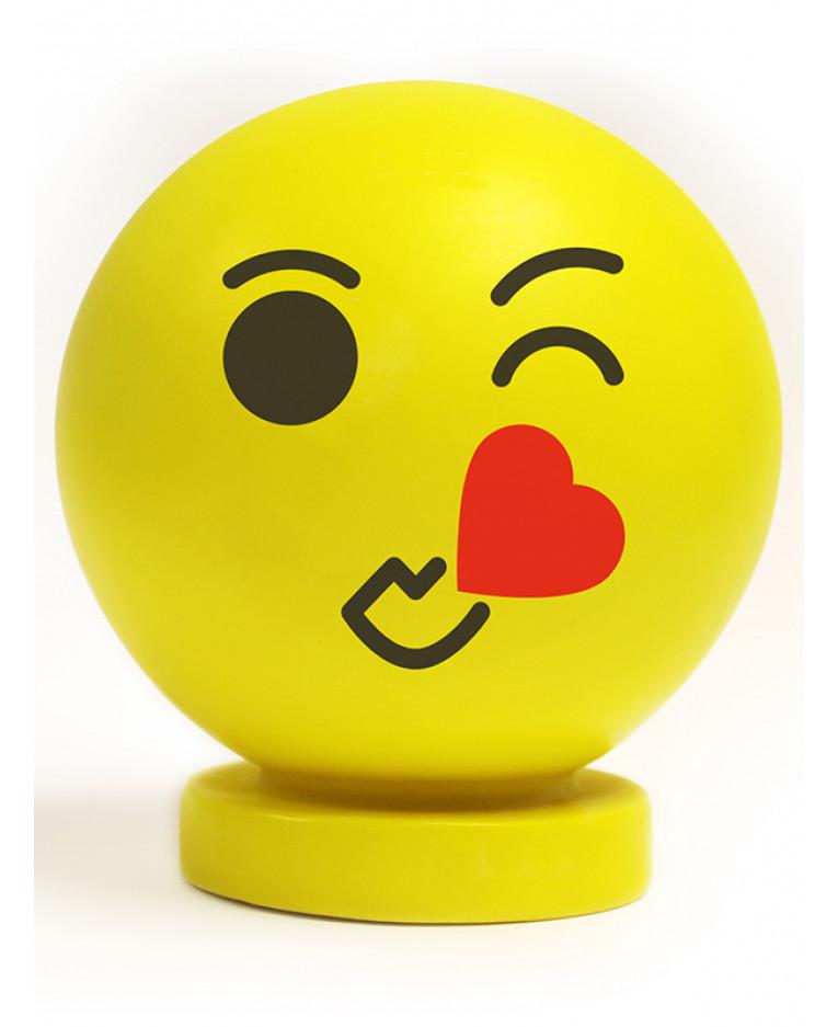 Emoji Big Kiss Illumi Mate Colour Changing Light Night Light